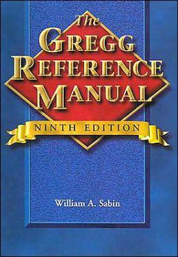 Grade: Gregg Reference Manual (Correx)