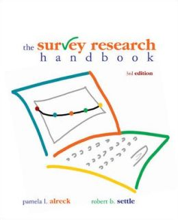 Survey Research Handbook (Paperback)