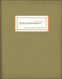 Marketing Management Text and Cases (McGraw-Hill/Irwin Series in Marketing)