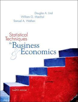 test bank statistical techniques in business and economics
