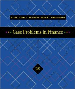 Case Problems in Finance + Excel Templates CD-ROM