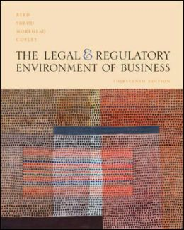 Legal and Regulatory Environment of Business -With DVD