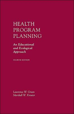 Health Promotion Planning: An Educational and Ecological Approach with PowerWeb Bind-In Card