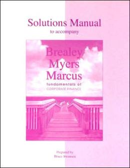 solutions to brealey myers corporate finance Browse and read brealey myers allen corporate finance solutions manual brealey myers allen corporate finance solutions manual.