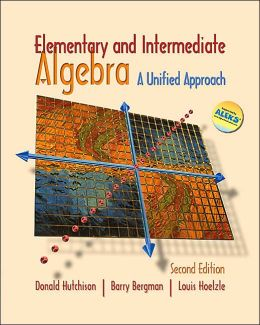 MP: Elementary and Intermediate Algebra: A Unified Approach W/ Mathzone