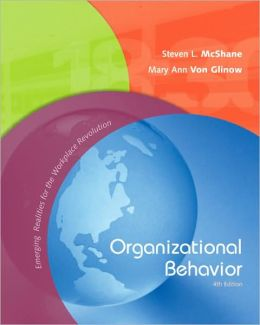 Organizational Behavior: Emerging Realities for the Workplace Revolution