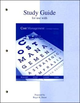 Study Guide to accompany Cost Management