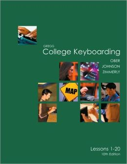 Gregg College Keyboarding (GDP) Lessons 1-20 KIT