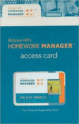 McGraw-Hill's Homework Manager to accompany Price 11e