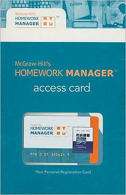 McGraw-Hill's Homework Manager Access Card to accompany Financial Accounting