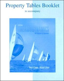 Thermodynamics Property Tables Booklet: An Engineering Approach