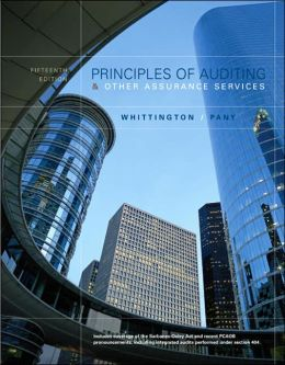 MP Principles of Auditing and Other Assurance Services with Updated Chapters 5, 6 And 7