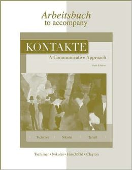 Kontakte-Arbeitsbuch - Workbook/Laboratory Manual