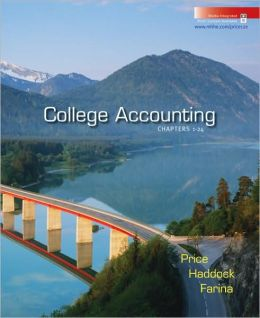 College Accounting Student Edition Chapters 1-24