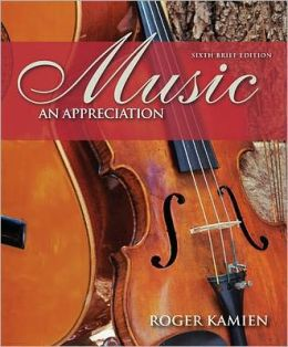 Music : Appreciation, Brief - With 5 CDs