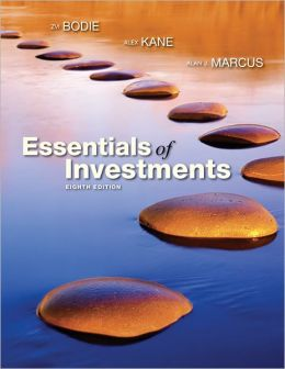 Essentials of Investments (NOT FOR INDIVIDUAL SALE)