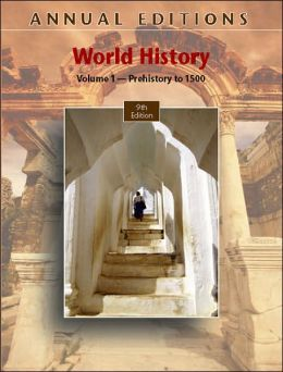 Annual Editions: World History, Volume 1