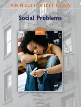 Social Problems 09/10