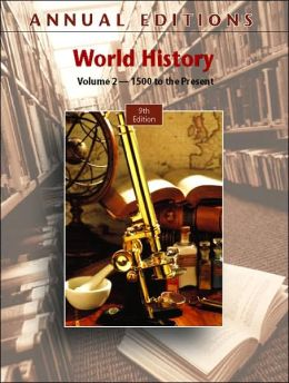 Annual Editions: World History, Volume 2