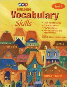 Building Vocabulary Skills: Student Edition Level 1
