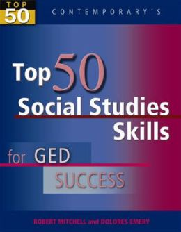 Top 50 Social Studies Skills for GED Success - Student Text Only