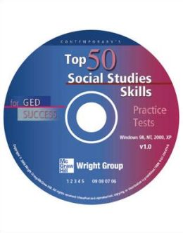Top 50 Social Studies Skills for GED Success - CD-ROM Only