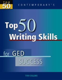 Top 50 Writing Skills for GED Success - Student Text Only
