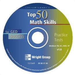 Top 50 Math Skills for GED Success - CD-ROM Only