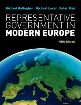 Representative Government In Modern Europe