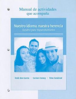 Nuestro idioma, nuestra herencia Manual de actividades / Our Language, Our Heritage Activities Manual