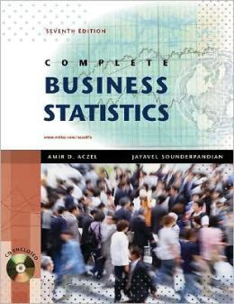 Complete Business Statistics with Student CD