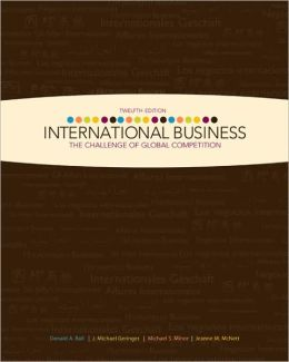 International Business: The Challenge of Global Competition w/ CESIM access card