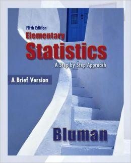 Elementary Statistics, A Brief Version
