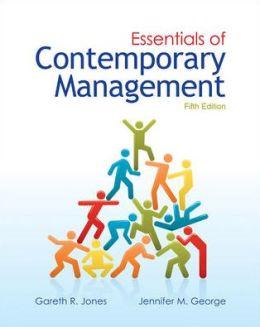 Loose-Leaf Essentials of Contemporary Management