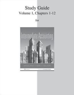 Study Guide Volume 1 for Intermediate Accounting