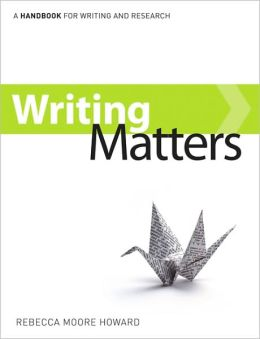 Writing Matters, Tabbed Preliminary Edition (Comb-bound)