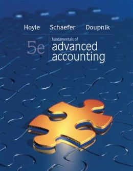 Loose-Leaf Fundamentals of Advanced Accounting