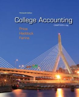 College Accounting Chapters 1-24 with Connect Plus