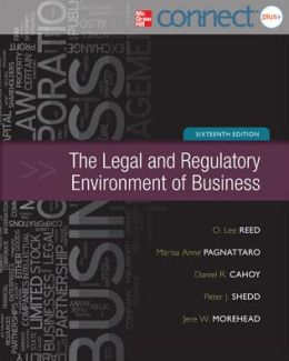 Legal and Regulatory Environment of Business with Connect Plus