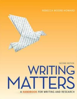 Writing Matters 2e, tabbed with Connect Composition 2.0 (PLUS) for Writing Matters, tabbed (Spiral)