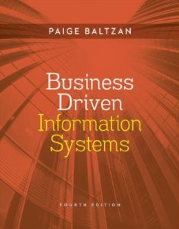 Loose Leaf Business Driven Information Systems With Connect Plus