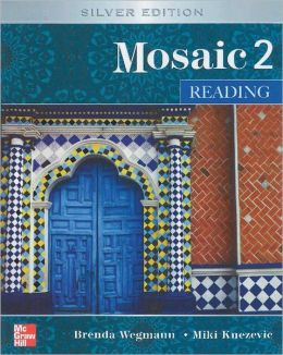 Mosaic Level 2 Reading Student Book; Reading Student Key Code for E-Course Pack