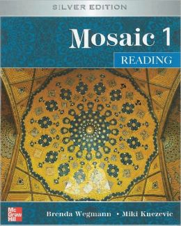 Mosaic Level 1 Reading Student Book; Reading Student Key Code for E-Course Pack
