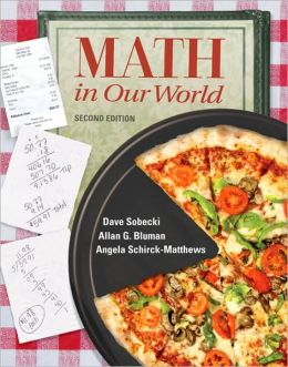 Combo: Math in Our World with Student Solutions Manual