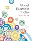 Book Cover Image. Title: Global Business Today, Author: Charles W. L. Hill