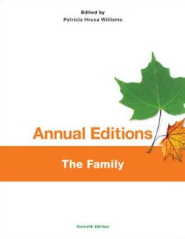 Annual Editions: The Family 14/15