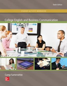 Student Activity Workbook to accompany College English and Business Communication