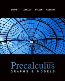 Precalculus: Graphs & Models with ALEKS User Guide & Access Code 1 Semester