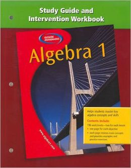 Algebra 1, Study Guide and Intervention Workbook