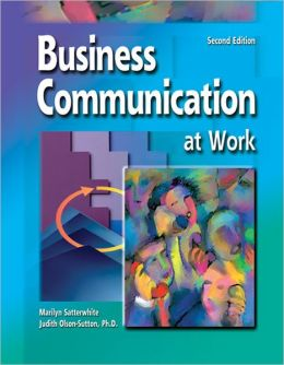 Business Communication At Work Student Text/Workbook/CD package 2003